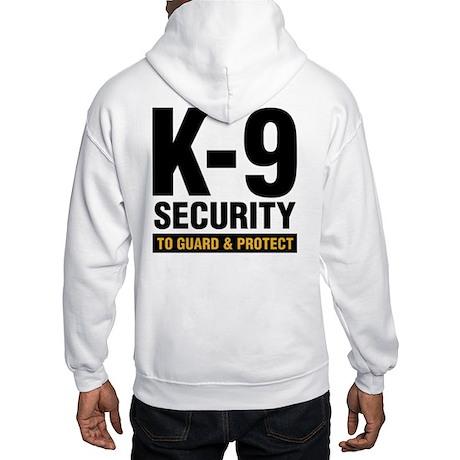 K-9 Dog Handler Hooded Sweatshirt Security Guard