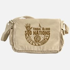 Tribal Blood Messenger Bag