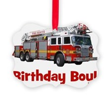 firetruck_birthdayboy Ornament