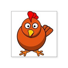 Cartoon Chicken Sticker