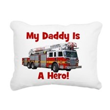 firetruck_isahero_daddy Rectangular Canvas Pillow