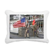 Checkpoint  Charlie Rectangular Canvas Pillow