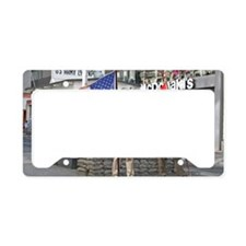 Checkpoint  Charlie License Plate Holder