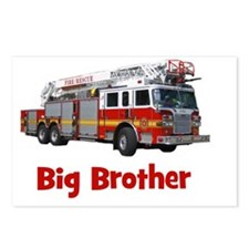 firetruck_bigbrother Postcards (Package of 8)