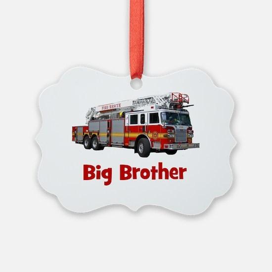 firetruck_bigbrother Ornament