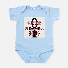 Ankh for Isis Infant Bodysuit