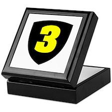 Number 3 Keepsake Box