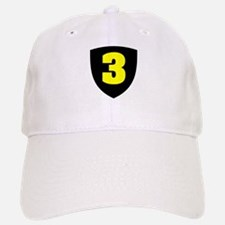 Number 3 Baseball Baseball Cap