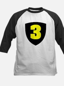 Number 3 Kids Baseball Jersey