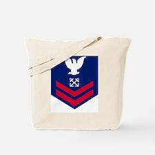 USCG-Rank-BM2-Crow Tote Bag