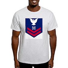USCG-Rank-BM2-Crow T-Shirt