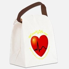 Wired4Life-3aTrans Canvas Lunch Bag