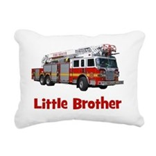 firetruck_littlebrother Rectangular Canvas Pillow