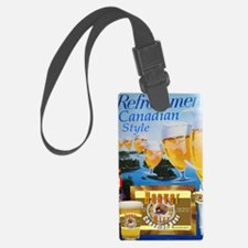 Beaver Wizz Beer Poster Luggage Tag