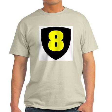 Number 8 Ash Grey T-Shirt