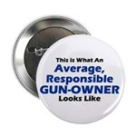"Gun-Owner 2.25"" Button (10 pack)"