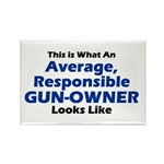 Gun-Owner Rectangle Magnet