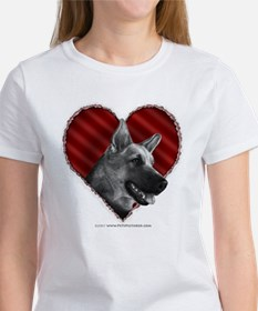 German Shepherd Heart Tee