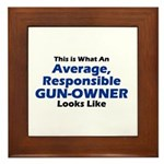 Gun-Owner Framed Tile