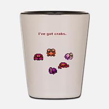 Crabs(SpreadShirt) Shot Glass