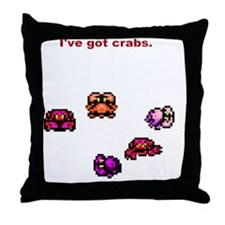 Crabs(SpreadShirt) Throw Pillow