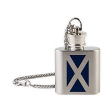 sapphire2 Flask Necklace