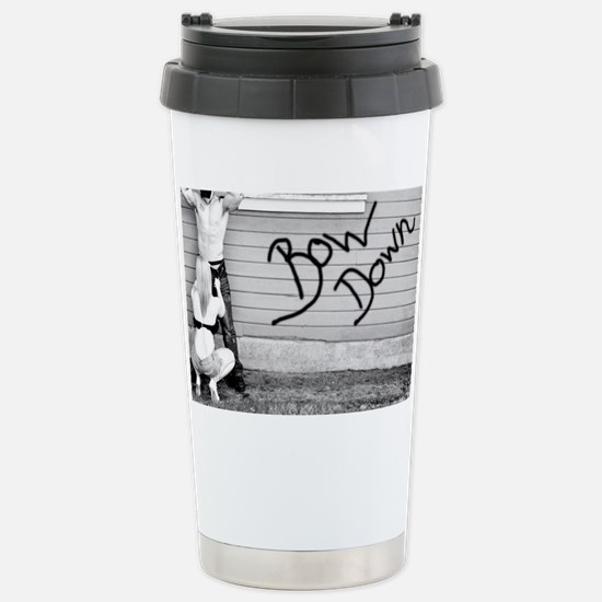 bow down Stainless Steel Travel Mug