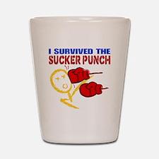 SuckerPunch Shot Glass
