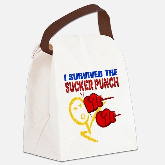 SuckerPunch Canvas Lunch Bag