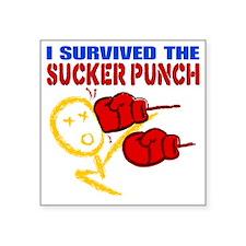 SuckerPunch Square Sticker 3