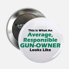 "Gun-Owner 2.25"" Button (100 pack)"