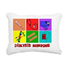 Dialysis Manager Rectangular Canvas Pillow