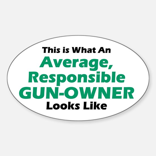 Gun-Owner Oval Decal