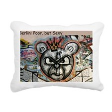 BAngryBear_MugSchrift Rectangular Canvas Pillow