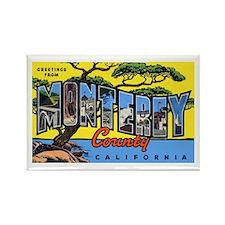 Monterey County California Rectangle Magnet