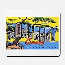 Monterey County California Mousepad