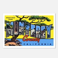 Monterey County California Postcards (Package of 8