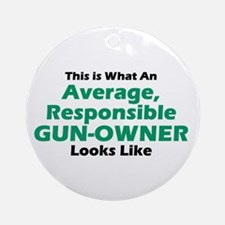Gun-Owner Ornament (Round)