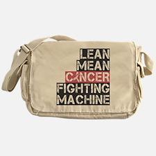 lean mean cancer fighting machine Messenger Bag