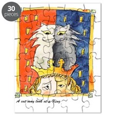 2-A cat may look at a king free Puzzle