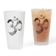 om Drinking Glass