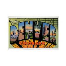 Denver Colorado Greetings Rectangle Magnet