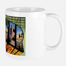 Denver Colorado Greetings Mug
