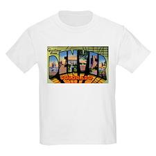 Denver Colorado Greetings (Front) Kids T-Shirt