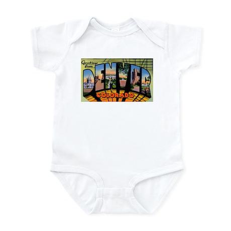 Denver Colorado Greetings Infant Bodysuit