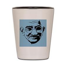 Ghandi-1-OV Shot Glass
