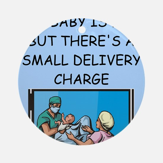 DELIVERY.png Ornament (Round)