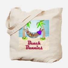 Beach Bunnies Card Tote Bag
