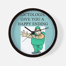PROCTOLOGIST proctologist gifts pparel Wall Clock