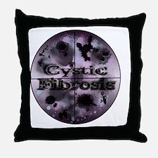 2-rifle sighting cystic fibrosis Throw Pillow